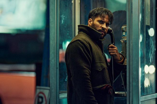Ricky Whittle as Shadow Moon Picture: PA Photo/Prime Video/ 2020 Starz Entertainment, LLC