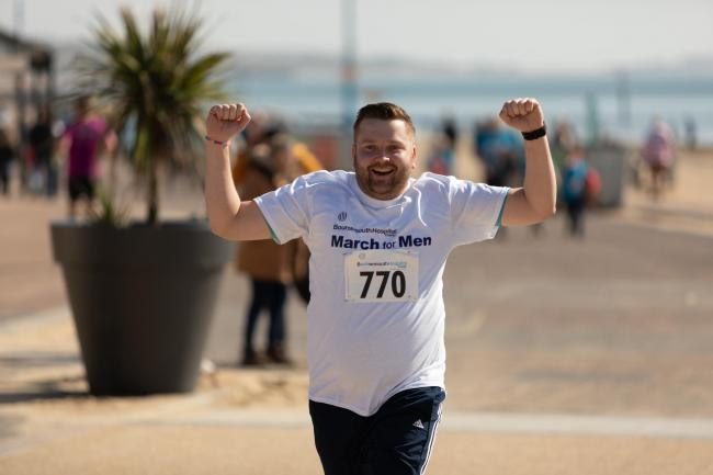 Bournemouth Hospital Charity's March for Men 2021