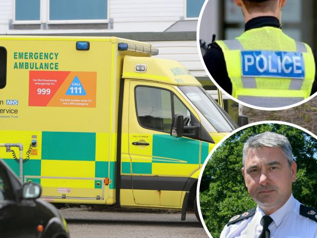 Dorset Police Chief Constable James Vaughan has deployed officers to train as ambulance drivers