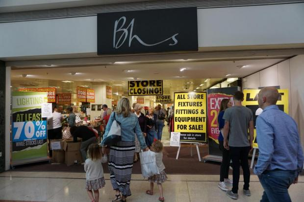 Bournemouth Echo: British Home Stores.