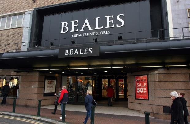 Bournemouth Echo: Beales.