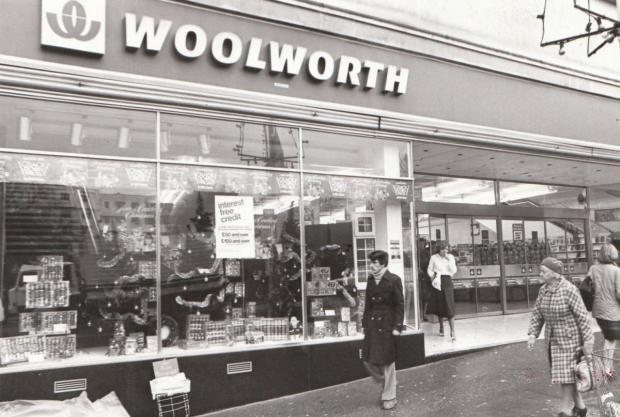 Bournemouth Echo: Woolworths in Poole.