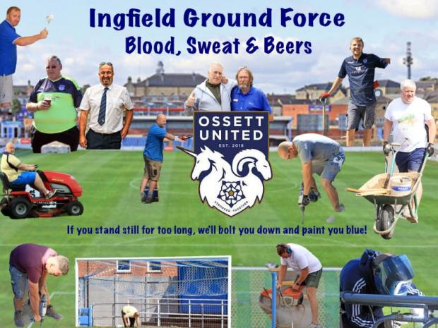 Bournemouth Echo: Ossett are blazing a trail both on and off the pitch with their innovative 'Ground Force programme'