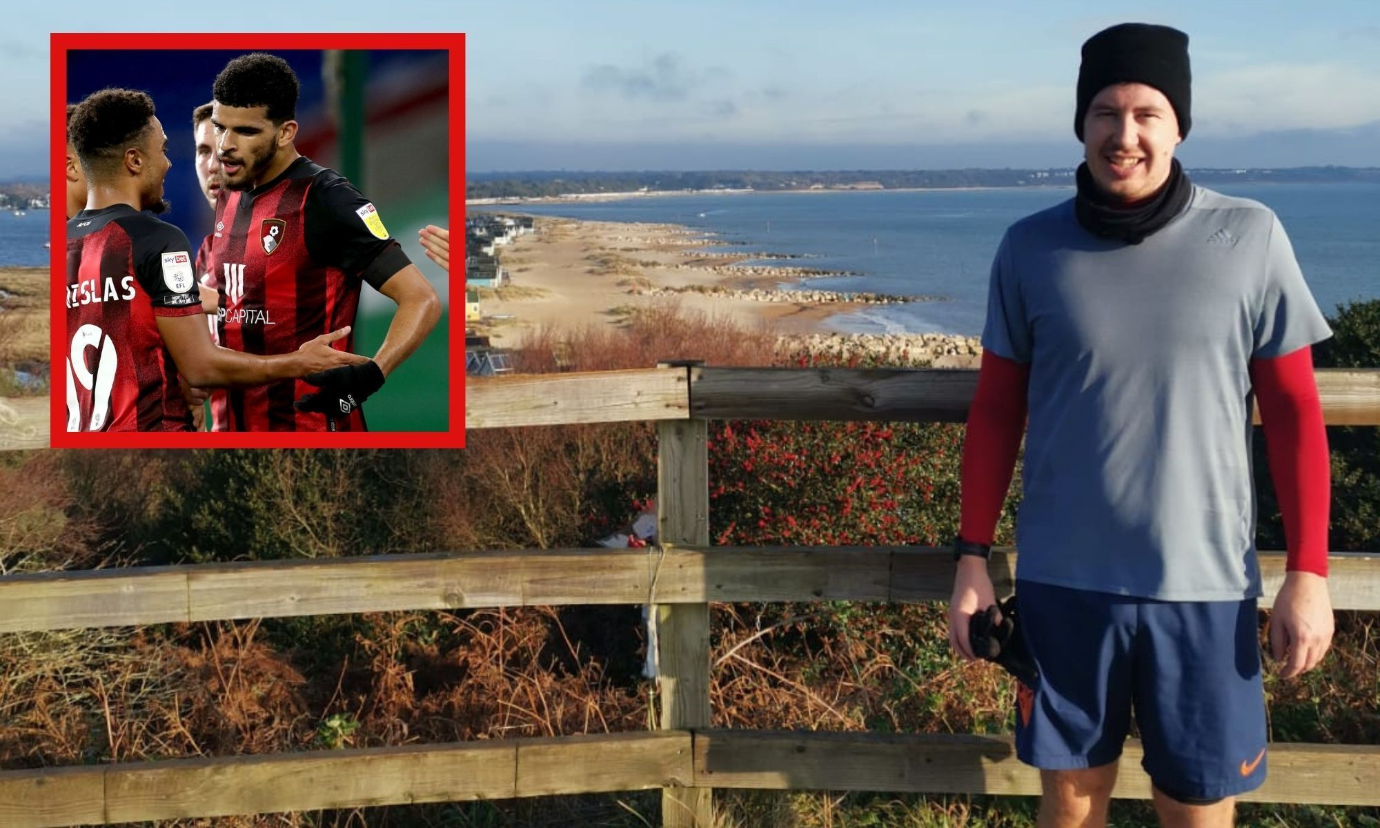 Meet Andrew - the man who runs a marathon every time Dom Solanke scores