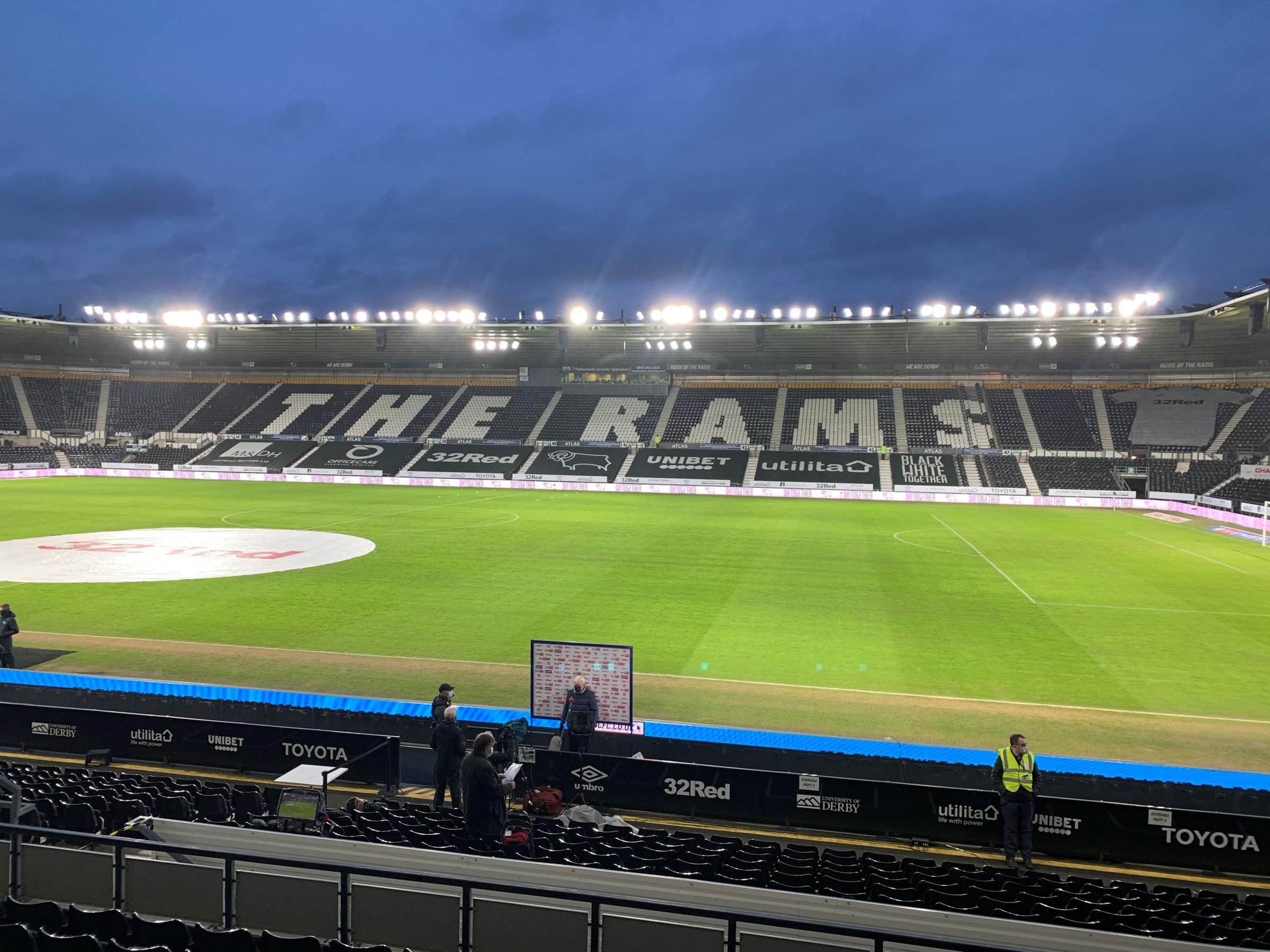 Championship: Derby County v Cherries live match updates