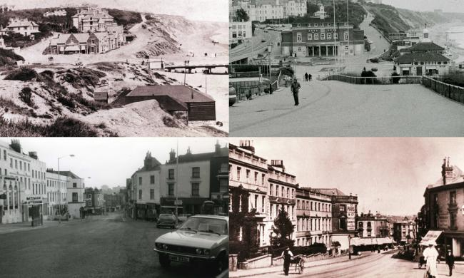 Then and now: Fascinating views of Bournemouth from the 19th century to the 70s