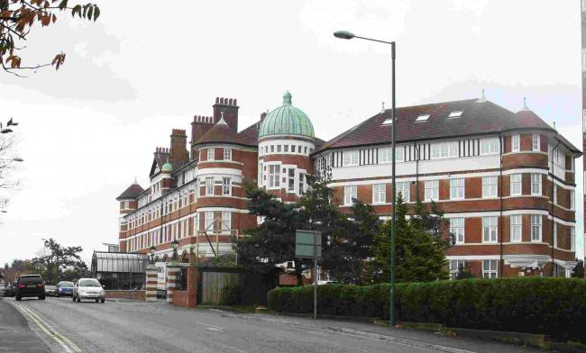 The former Burlington Hotel on Owls Road is now flats.