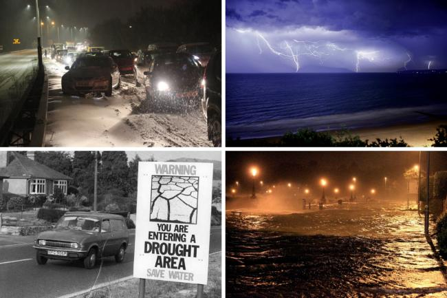 PICTURES: Snow, storms and heatwaves in Dorset through the years