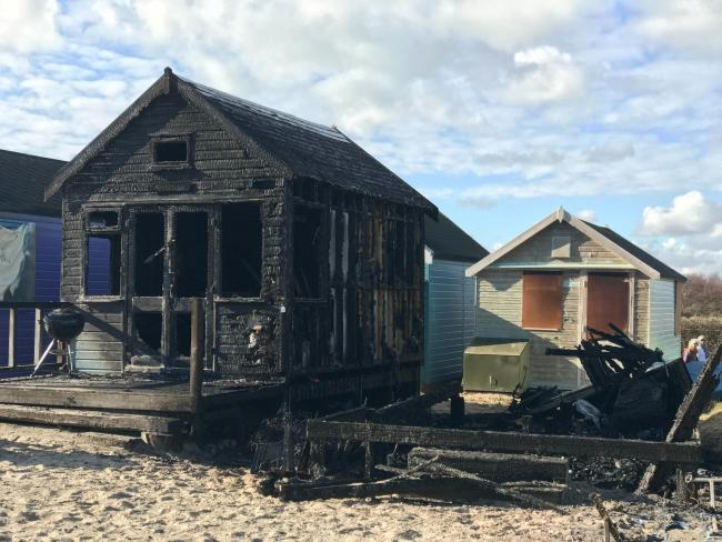Letter to the Editor: Beach hut blaze and break-ins highlights issues