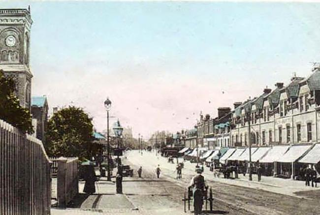 Can you guess where in Bournemouth this picture was taken? It's an old one!