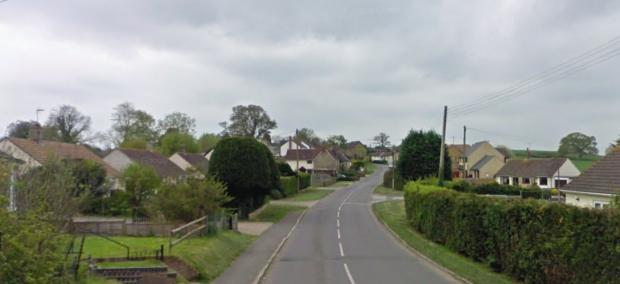 Bournemouth Echo: Hazelbury Bryan is a 'quiet village' based in North Dorset. Please note: Properties in photo are not where the Covid-19 breach occurred. Picture: Google