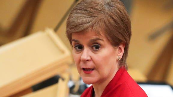 Bournemouth Echo: Nicola Sturgeon. (PA)