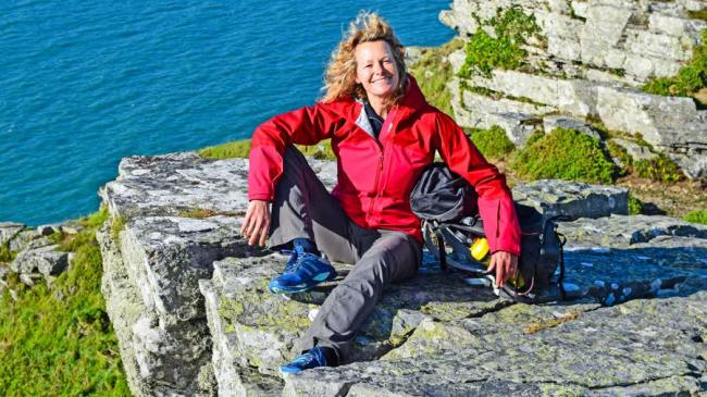Kate Humble is in Dorset tonight on Channel 5. (Credit: Channel 5/SCU TV)