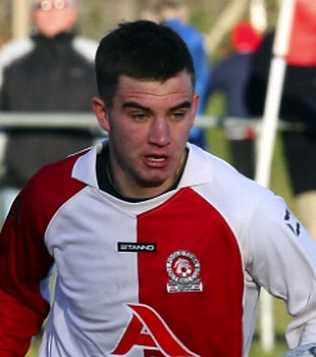 Bournemouth Echo: NEW HAMMER: Micky Hubbard (pictured playing for Poole Town)
