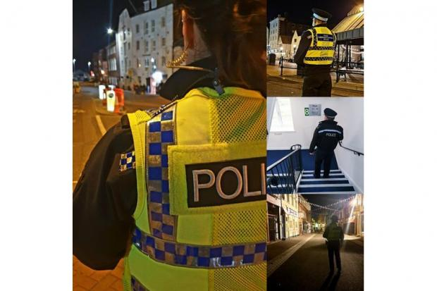 A man was knocked unconscious during a fight in a pub beer garden in Poole on April 16 2021. Pictures: Poole police