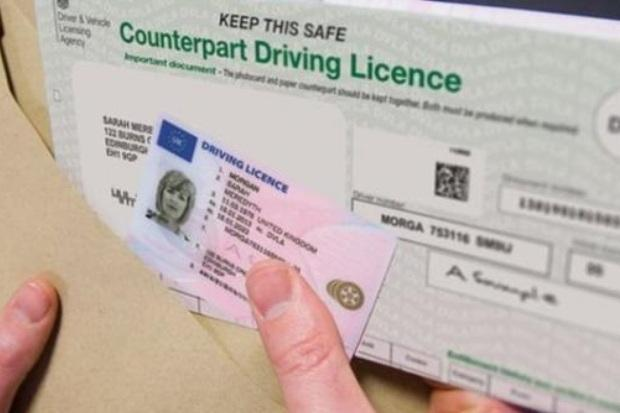 Bournemouth Echo: You can see if your driving licence is out of date by looking at section 4b.
