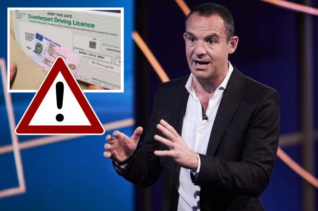 Martin Lewis has urged drivers to check their licence to avoid ending up with a fine