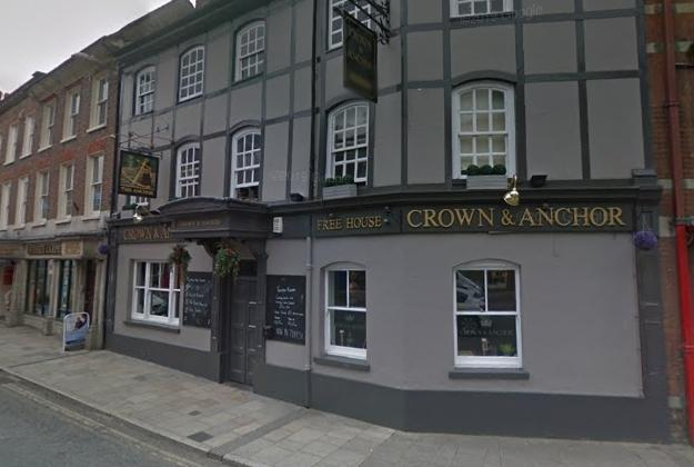 The Crown and Anchor pub in West Street, Blandford Forum. Picture: Google Maps/ Street View
