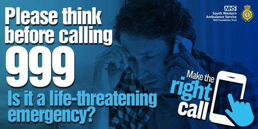 People urged not to call 999 unless in an emergency