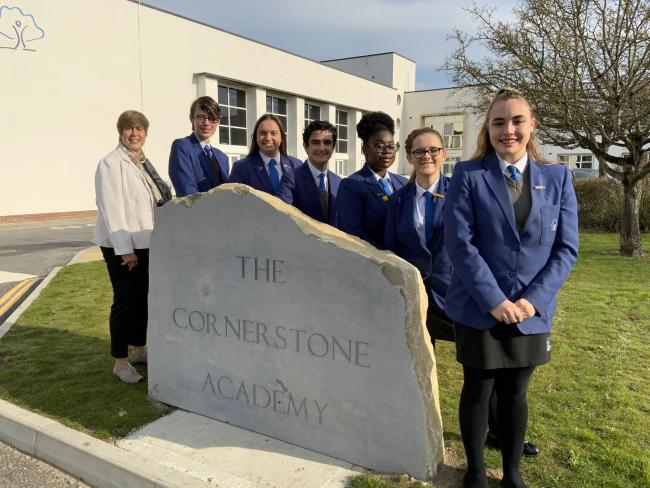 The Cornerstone Academy Sam Davidson and Prefects