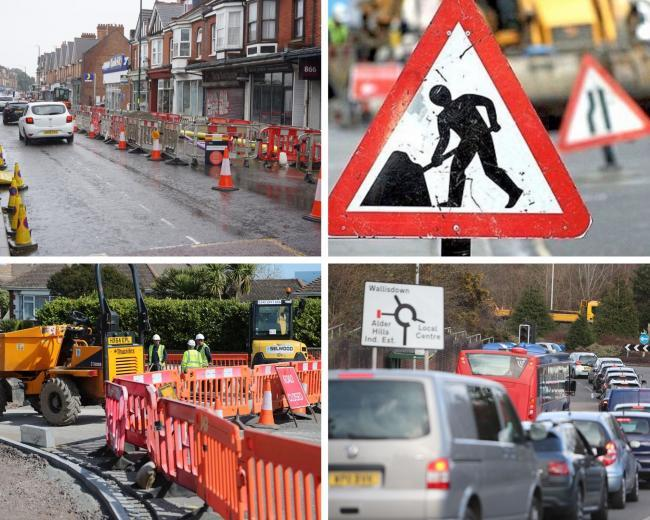 Roadworks schemes taking place across the BCP Council area this week