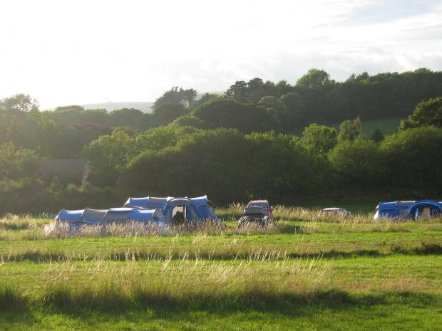 Bournemouth Echo: Osmington Mills Corner Campsite in top 10 best-selling sites in UK Picture: pitchup.com