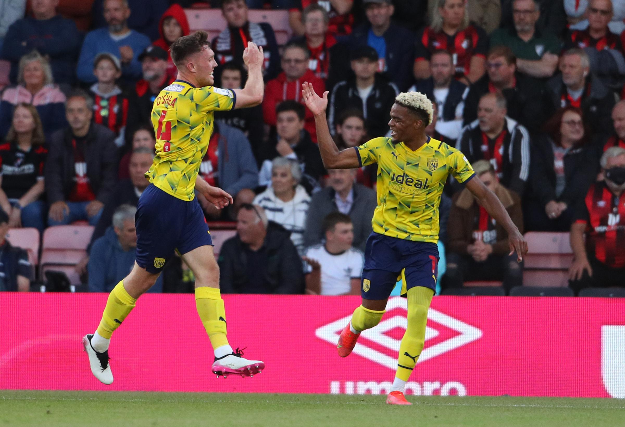 Cherries twice squander lead in opening draw with West Brom