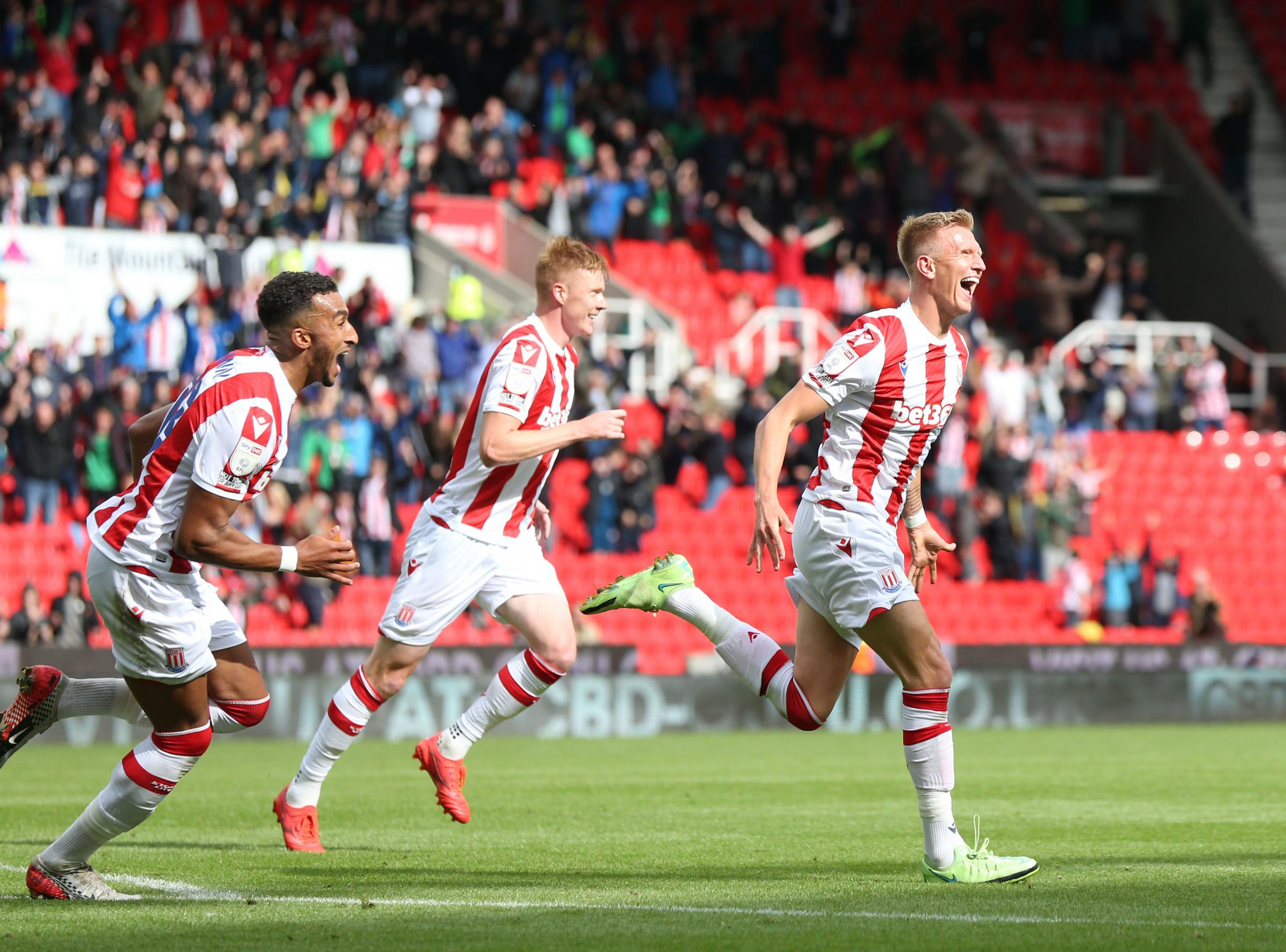 Surridge strikes winner for Stoke - days after being sold by Cherries