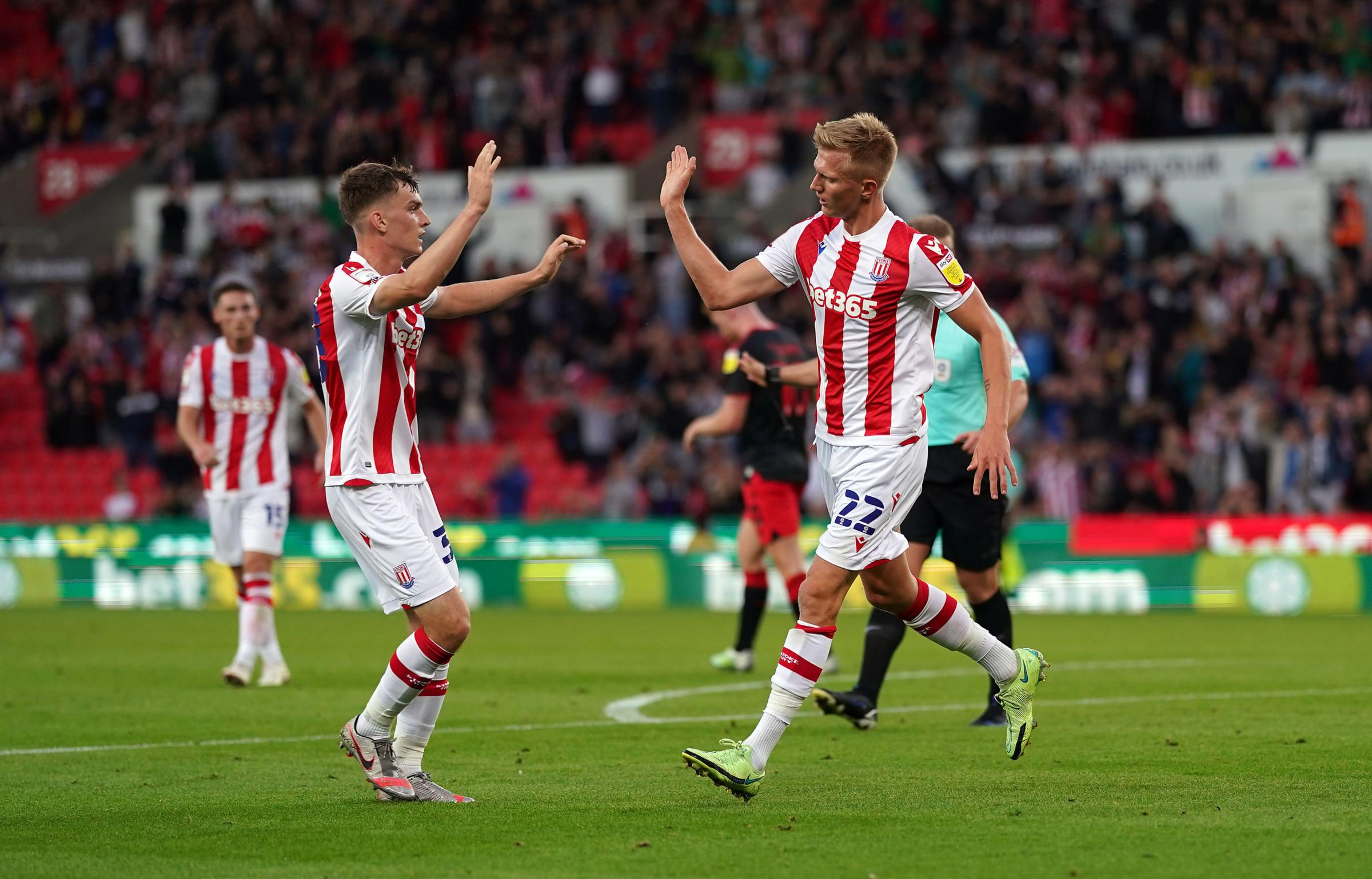 Sam Surridge makes it two in two since leaving Cherries for Stoke
