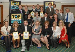 STORE STARS: Winners at the Top of the Shops Poole retail awards  2010