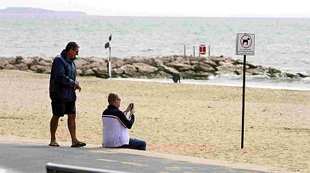 """Take pictures on the beach? You'll need a licence..."""