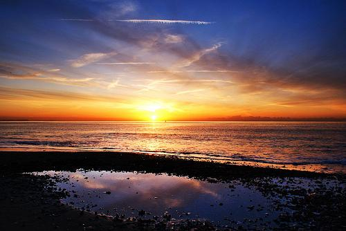 Bournemouth Echo: Branksome Sunrise by Kasia Nowak