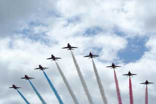 Red Arrows grounded over ejector seat fears