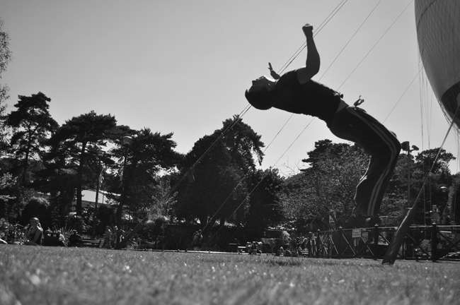 Bournemouth Echo: Freerunning by Andrew Moss