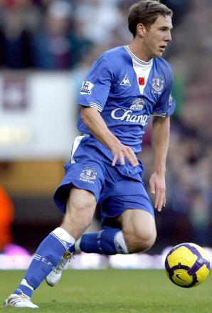 HEART SET: Former Everton midfielder Dan Gosling wants to join Cherries