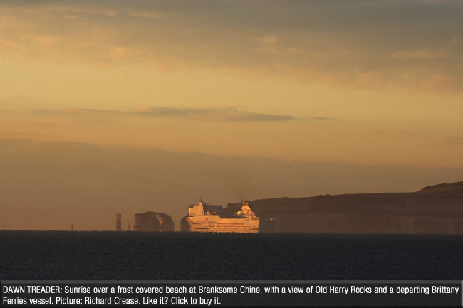 Bournemouth Echo: Old Harry one