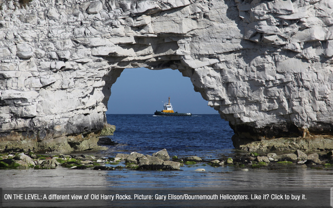 Bournemouth Echo: Old Harry three