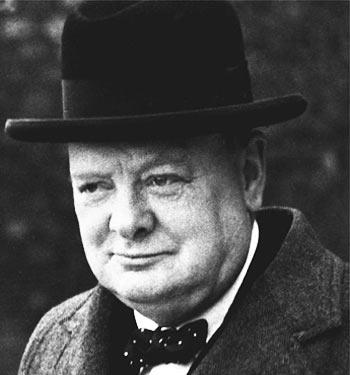 Bournemouth Echo: Winston Churchill