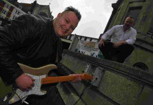 WEEKEND OF SOUNDS: Quayside Music Festival organisers Danny Adams, left, and Keith Treggiden