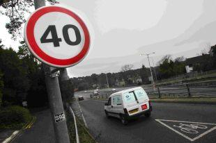 EXTENDED: 40 mph speed limit introduced on the Wessex Way