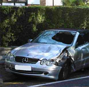 CRASH: Two pedestrians were killed at Banks Road, Sandbanks earlier this month