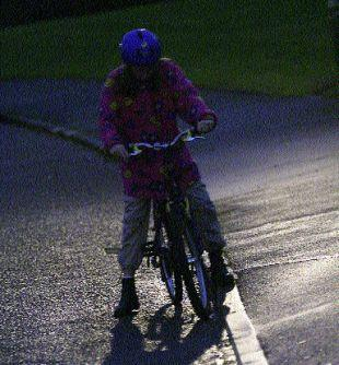 THE DARKNESS: Police stopped 125 cyclists without lights over the course of just one week in towns across the New Forest