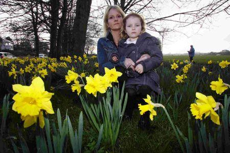"Bournemouth Echo: Girls picking daffodils in park were ""stealing"", says councillor"