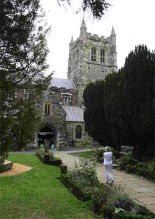 Bournemouth Echo: Wimborne Minster bells ring out to celebrate centenary