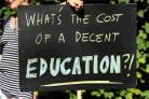 LOST RESPECT: Teachers on strike calling for fair pensions for all