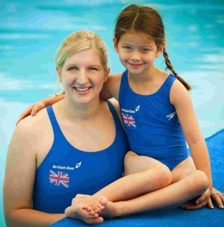 Swimmer Rebecca Adlington hail...