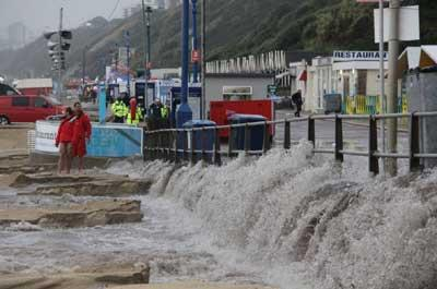 Daily Echo pictures and reader photos of the flash floods in Dorset on August 18, 2011.