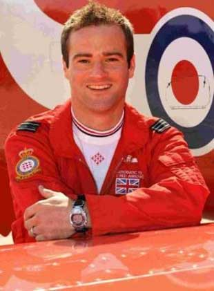 MEMORIAL: Red Arrows pilot Jon Egging who died after a display at Bournemouth Air Festival. Picture: MoD.
