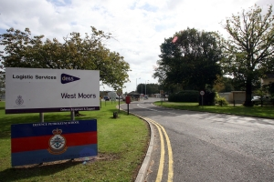 STAFF MOVING: West Moors MOD Petrol Depot