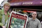 Kelly's Kitchen owner Terry Kelly and his wife Rose